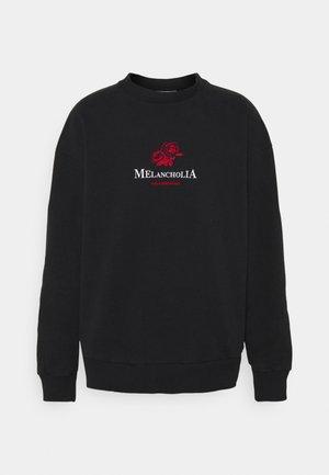 BULKY CREW - Sweatshirts - faded black