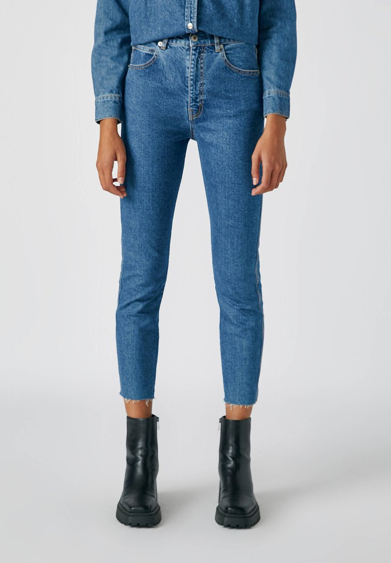 PULL&BEAR - Jeans Slim Fit - dark blue