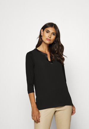 3/4 ARM - Blouse - black