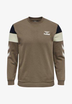 HMLSTEPHAN - Sweatshirt - walnut