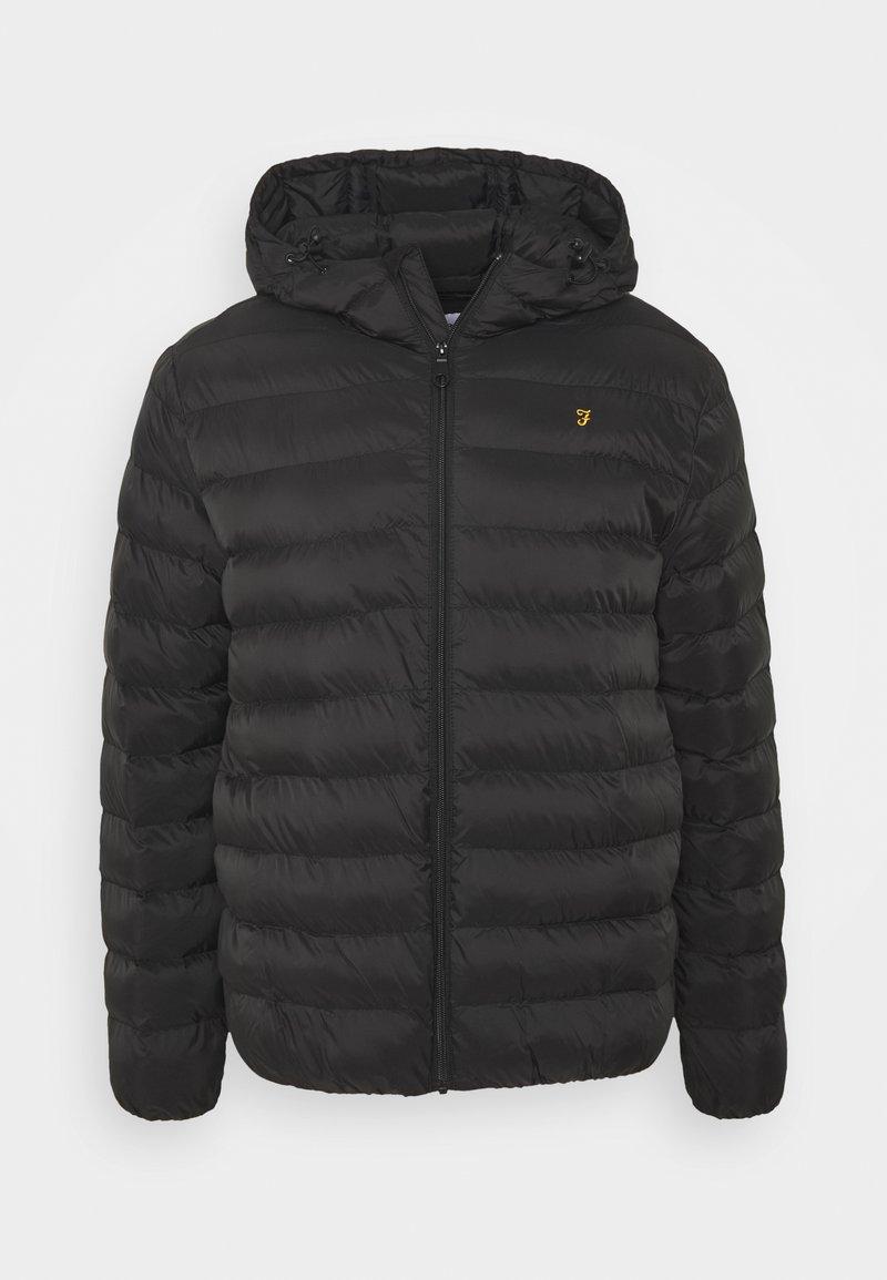 Farah - STRICKLAND COAT - Light jacket - black