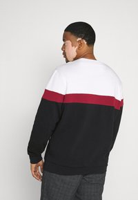 Pier One - Sweater - white/red/black - 2