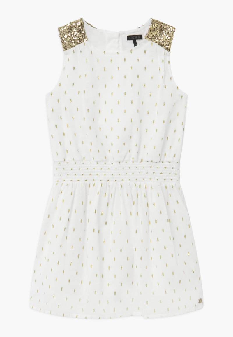IKKS - Robe de soirée - blanc cassé
