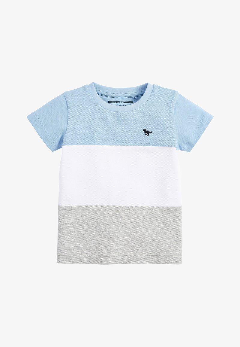 Next - Print T-shirt - blue
