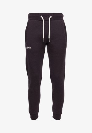 ORANGE LABEL - Tracksuit bottoms - autumn blackberry marl