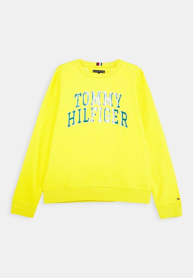ARTWORK  - Sweatshirt - yellow