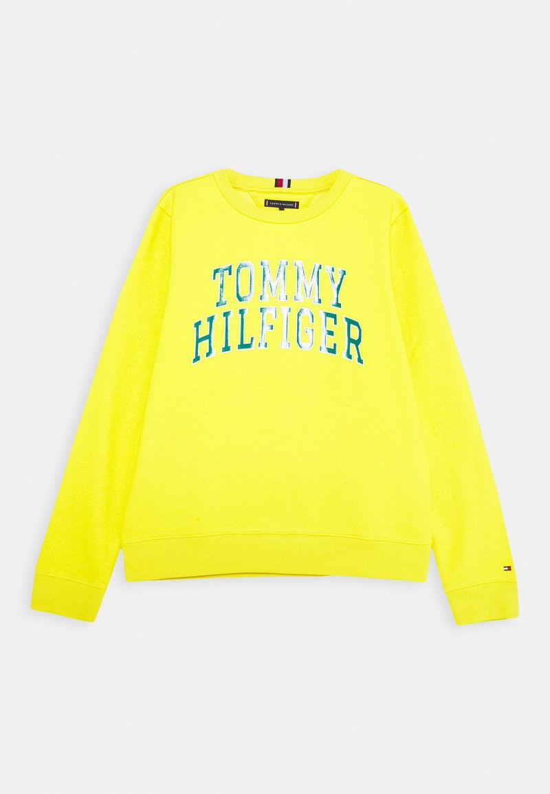 Tommy Hilfiger - ARTWORK  - Mikina - yellow
