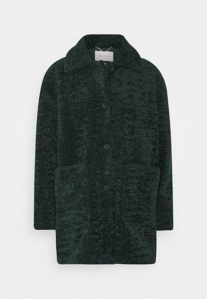 Rich & Royal - Winter coat - emerald green