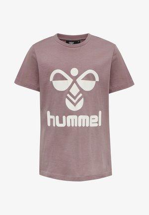 HMLLTRES - Print T-shirt - twilight mauve