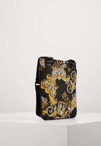 Versace Jeans Couture - UNISEX - Across body bag - black/gold - 3