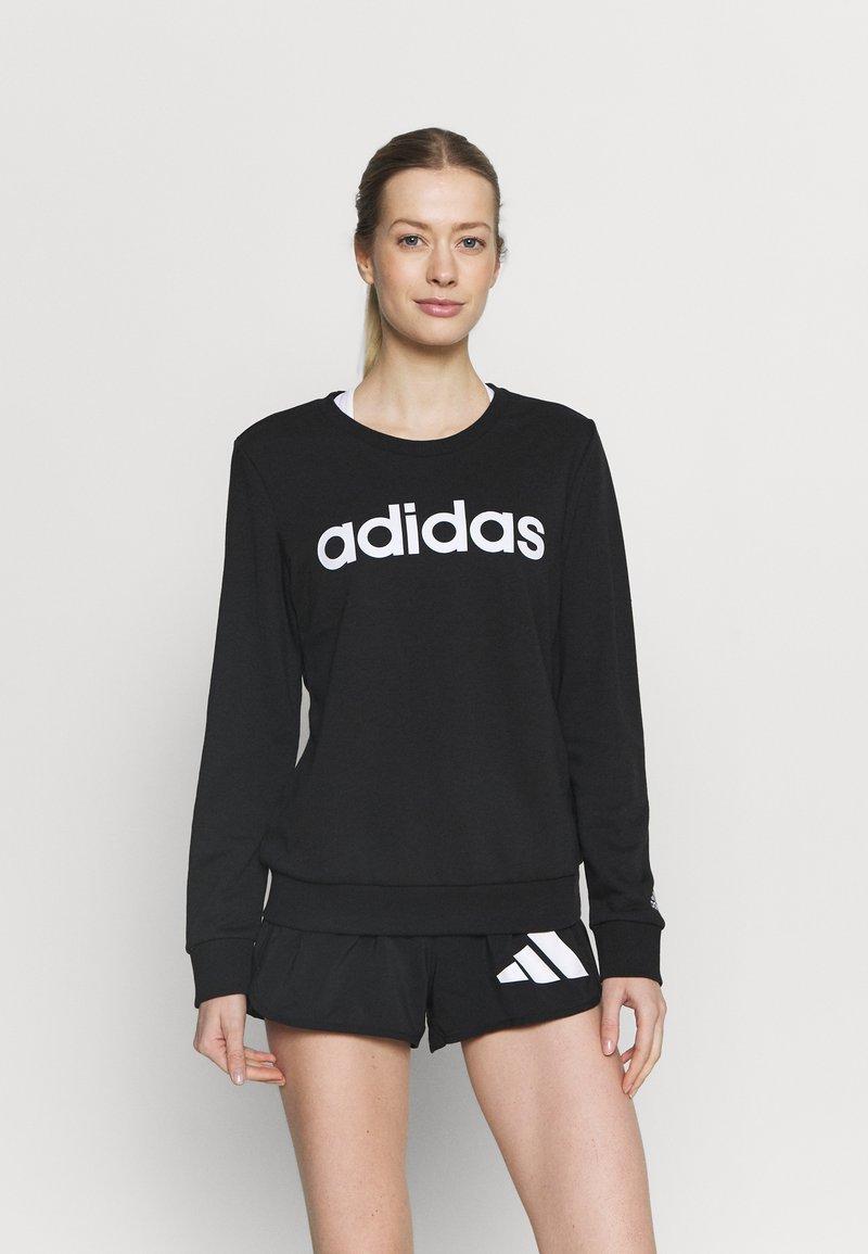 adidas Performance - Sweatshirts - black/white