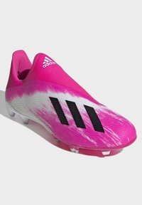 adidas Performance - X 19.3 FIRM GROUND BOOTS - Moulded stud football boots - white - 3