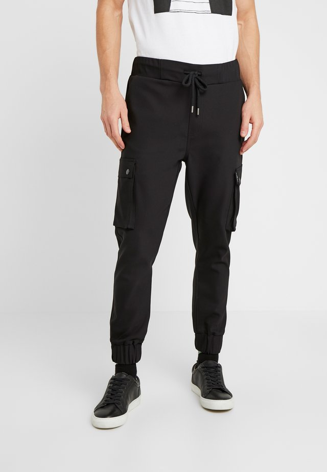 LORENZ - Cargo trousers - black