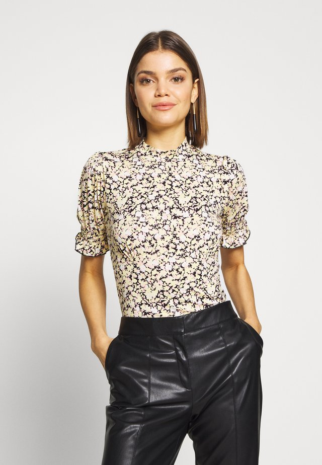 HIGH NECK TEA TOP - Print T-shirt - print
