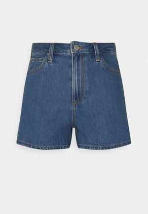 CAROL  - Denim shorts - mid stone