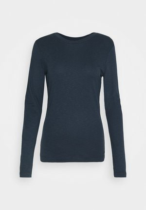 LONG SLEEVE ROUND NECK - Long sleeved top - dark night