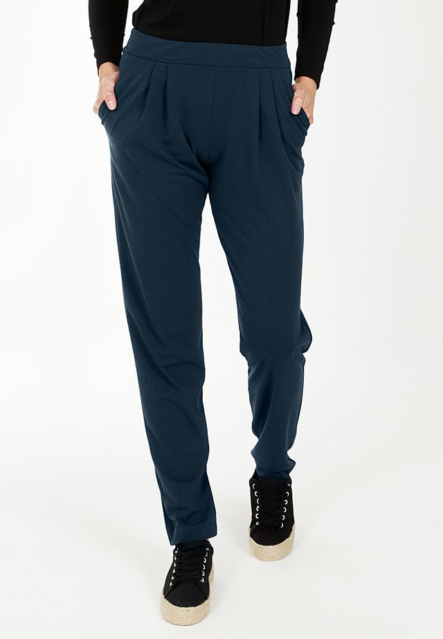 Trousers - woodland teal