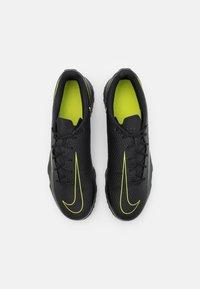 Nike Performance - PHANTOM GT CLUB TF - Astro turf trainers - black/cyber/light photo blue - 3