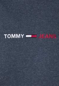 Tommy Jeans - STRAIGHT LOGO HOODIE - Mikina - blue - 5