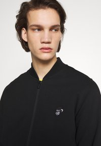 PS Paul Smith - BOMBER - Mikina na zip - black - 3