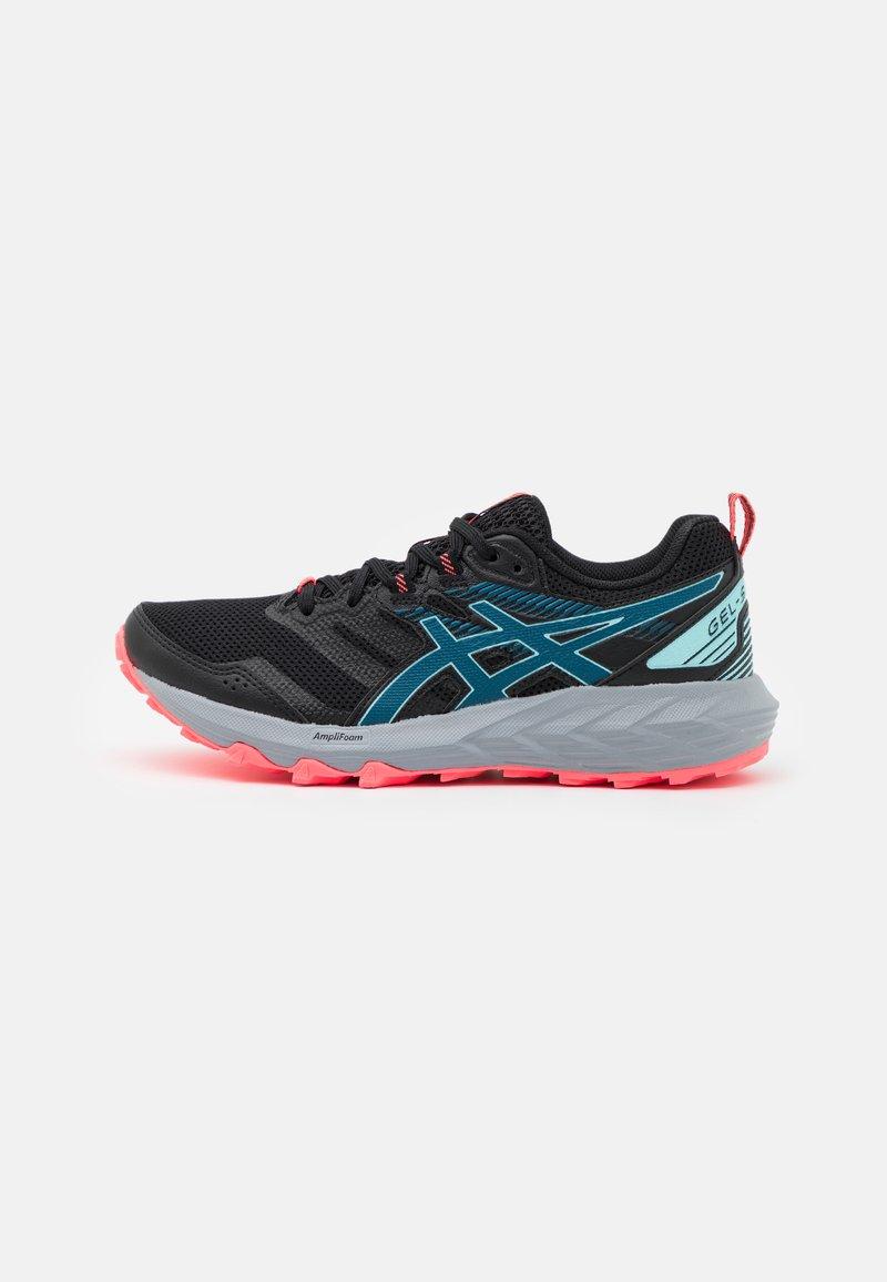ASICS - GEL SONOMA 6 - Trail running shoes - black/deep sea teal