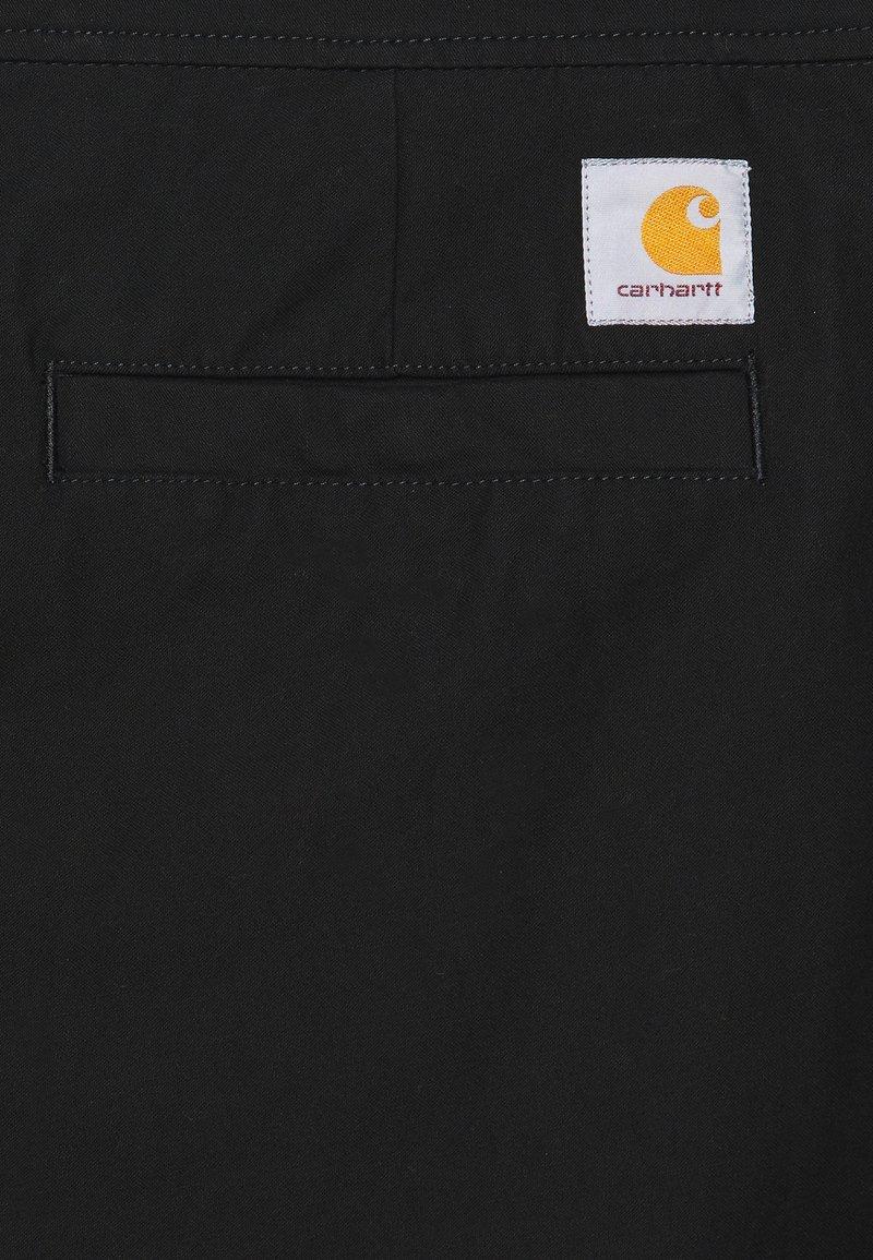 Carhartt WIP MARSHALL SANDERS - Stoffhose - black/schwarz sPWmn9