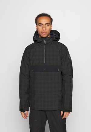 STALEFISH - Snowboard jacket - black plaid