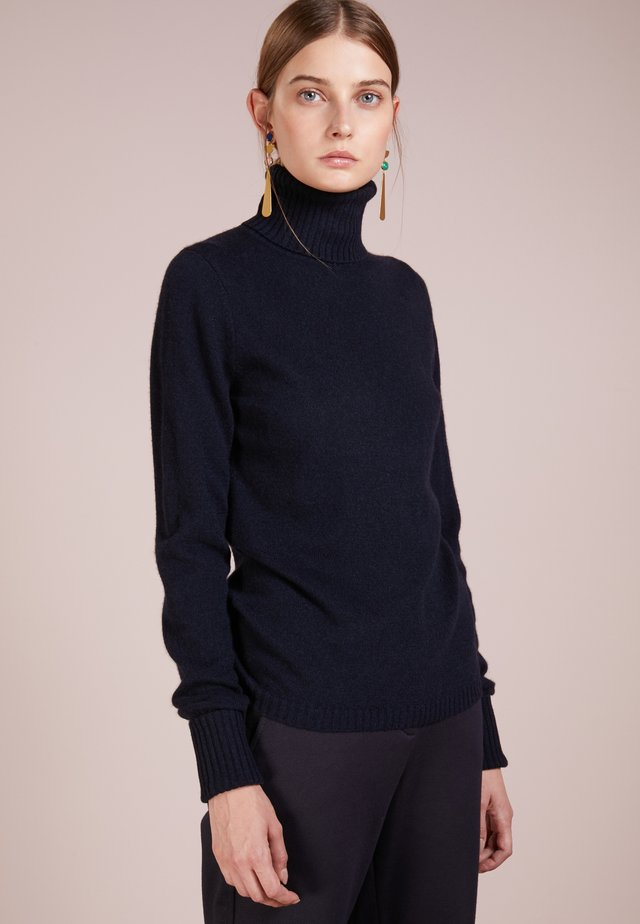 ROLLNECK - Strickpullover - midnight