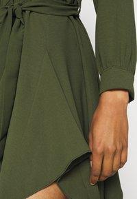 WAL G. - LAURY SHIRT DRESS - Shirt dress - khaki - 5