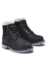 Timberland - 6 INCH PREMIUM WP SHEARLING - Winter boots - black nubuck - 1
