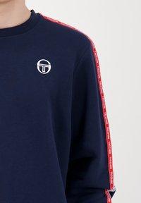 sergio tacchini - BUTCH CREW  - Sweatshirt - nvy/wht - 3
