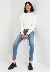 Lee - SCARLETT HIGH - Jeans Skinny Fit - stone blue denim - 1