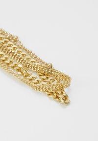 Pieces - PCFIBO BRACELET 3 PACK - Armbånd - gold-coloured - 4