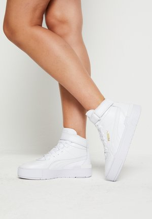 CALI SPORT WARM UP - Höga sneakers - white