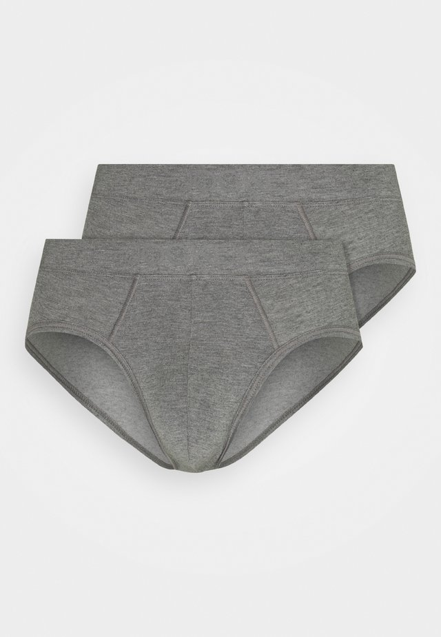 BRIEF 2 PACK - Underbukse - grey