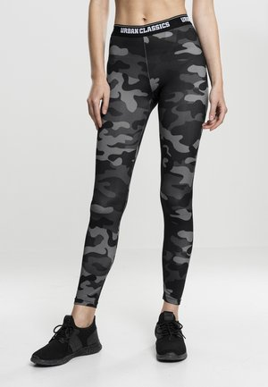 Leggings - Trousers - dark camo