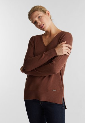 OCS+CORE - Pullover - brown