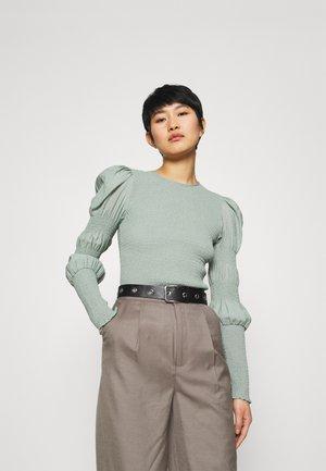 MAZZI BLOUSE - Blouse - slate gray