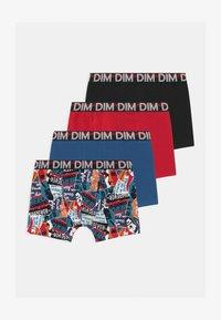 DIM - BOYS BOXER 4 PACK - Panties - noir - 0