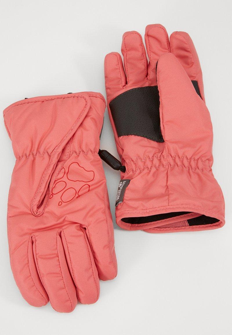Jack Wolfskin - EASY ENTRY GLOVE KIDS - Gloves - coral/pink