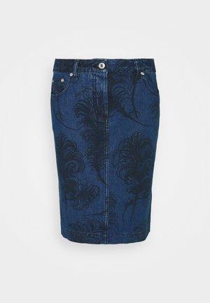 SKIRT - Denimová sukně - fantasy blue