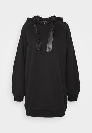 OVERSIZED HOODIE - Koszulka do spania - black