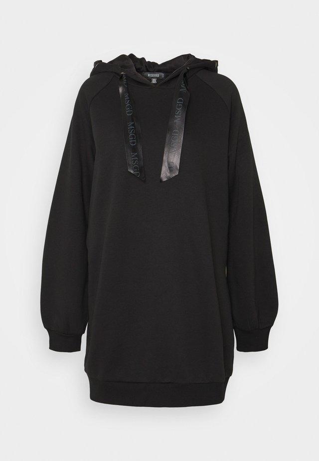 OVERSIZED HOODIE - Pyžamový top - black