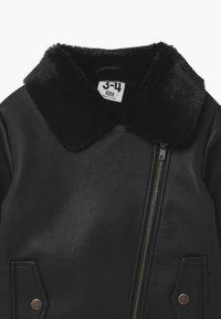Cotton On - OLIVIA BIKER - Faux leather jacket - black - 2