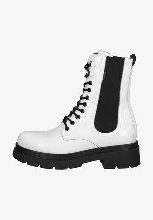 Korte laarzen - bianco