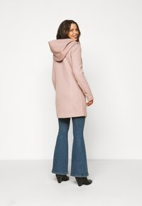 ONLY Petite - ONLSEDONA LIGHT COAT PETITE  - Short coat - mocha mousse melange - 3