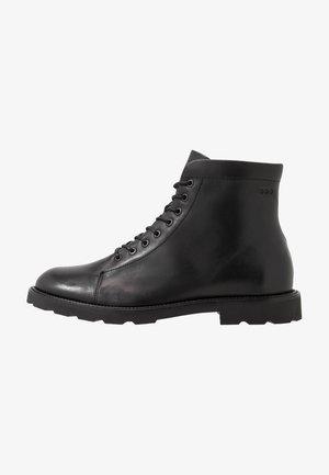ALIAS HIKER HIGH CUT - Lace-up ankle boots - black
