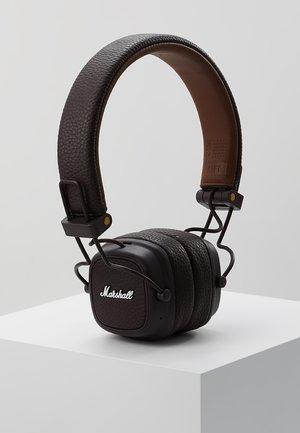 MAJOR III BLUETOOTH - Headphones - brown
