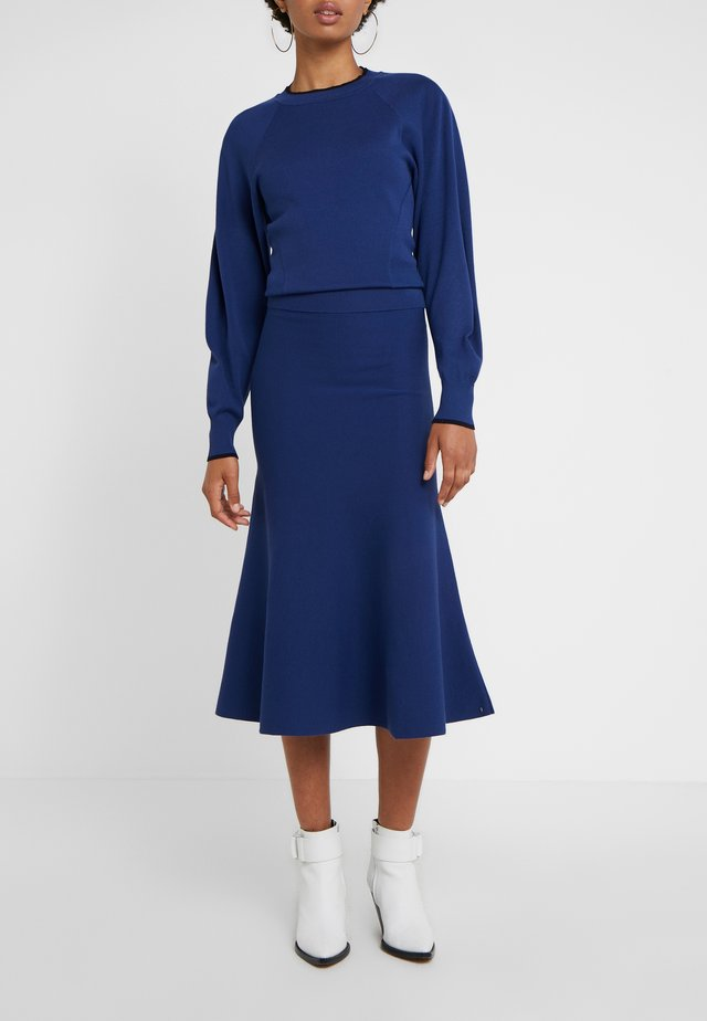 ESTE - A-line skirt - chinablau