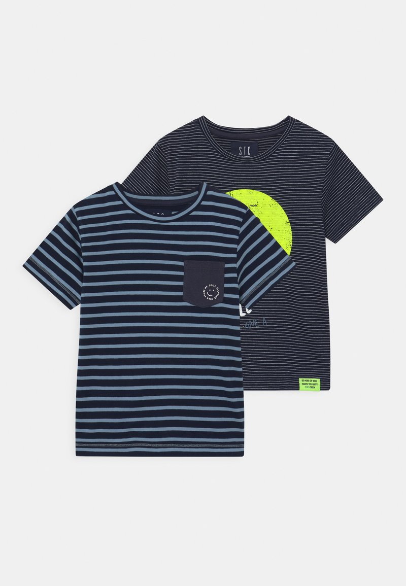 Staccato - 2 PACK - Camiseta estampada - multi-coloured
